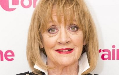 Amanda Barrie reveals she electrocuted herself and 'lit up' her West End flat