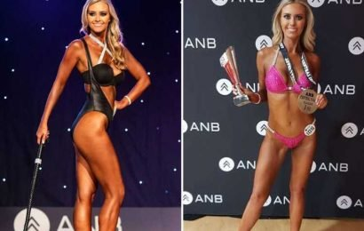 Vegan bodybuilder, 37, hits back at trolls who say she's 'too old to compete'
