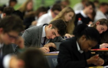 Schools in England dump 1 in 12 pupils before GCSEs to avoid harming exam results