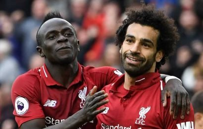 Gary Neville thinks Liverpool hitmen Salah and Mane would be snapped up in an instant by Real Madrid or Barcelona, and so would Sane and Sterling