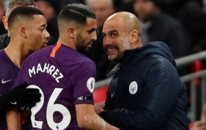 Riyad Mahrez 'openly whining at training' about lack of minutes under Pep Guardiola just months after joining Man City for £60m