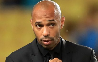Arsenal legend Henry in line for managerial return with struggling Anderlecht just months after Monaco sacking