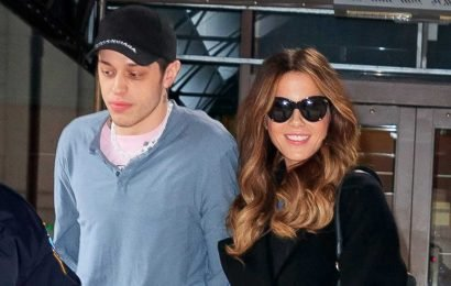 Who is Pete Davidson, and when was Kate Beckinsale's boyfriend engaged to Ariana Grande?