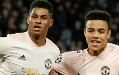 Rashford suffers shoulder injury in Man Utd draw with Chelsea and fans call for Mason Greenwood to replace him vs Huddersfield