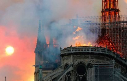 Notre Dame fire – France launches criminal probe as cops quiz restorers working on cathedral before devastating blaze