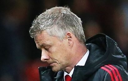 Man United fans 'utter despair' as it's revealed they haven't scored a goal from open play for EIGHT hours and 47 minutes