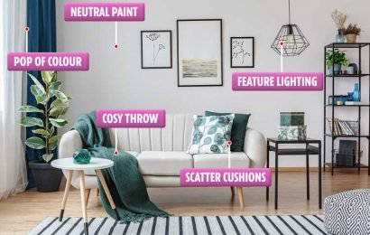 Interior designer reveals the simple changes to update your home in minutes – and some of them are VERY cheap