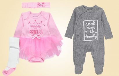 Asda blasted over 'sexist' kids clothes with boys' slogans saying 'active little man' while girls are 'oh so pretty'