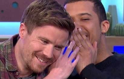 Game Of Thrones' Gendry and Grey Worm get told off by Sunday Brunch's Tim Lovejoy for whispering spoilers in hilarious interview