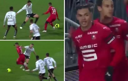 Hatem Ben Arfa scores incredible goal after starting and finishing stunning move for Rennes