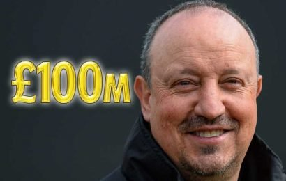 Benitez given green light to smash Newcastle transfer record with £100m war chest over two years