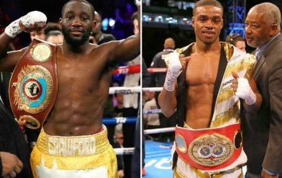 Terence Crawford calls out Errol Spence Jr after Amir Khan win… but promoter Arum fears superfight is impossible