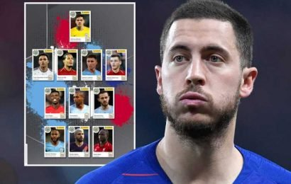 Chelsea lead fury at Hazard missing out on PFA Team of the Year by venting anger in article on their official website