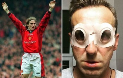 Ex-Man Utd ace Poborsky was 'one day away' from death after discovering brain injury