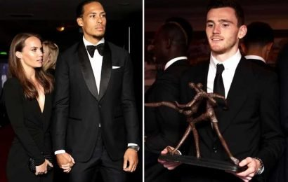 Van Dijk wins PFA Player of the Year after brilliant season at Liverpool