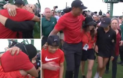 Tiger Woods wins the Masters to complete the greatest comeback in sport, 11 years after his last major and sex scandal, DUI arrest and surgeries