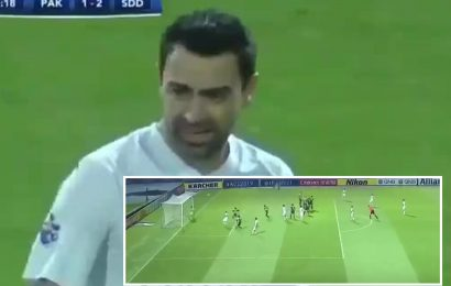 Barcelona icon Xavi rolls back the years with incredible double in Asian Champions League aged 39