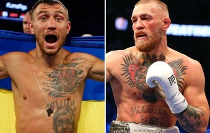 Lomachenko hints at incredible boxing fight with 'amateur' McGregor and claims he would 'school' the UFC superstar