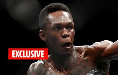 Israel Adesanya's UFC title challenge against Kelvin Gastelum will be 'a piece of cake' having already beaten legend Anderson Silva
