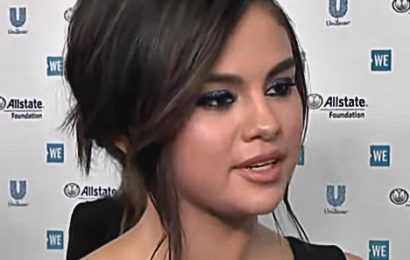Selena Gomez Gushes about Cardi B and Taylor Swift on the 'WE Day California' Blue Carpet