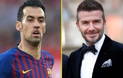 Sergio Busquets 'tempted to join David Beckham's new Miami FC franchise in MLS'