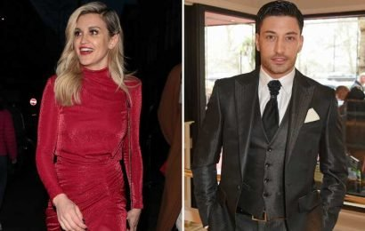 Strictly's Ashley Roberts and Giovanni Pernice horrified as punter throws up over dancefloor at dance show party