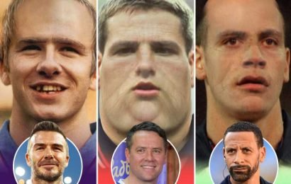 How David Beckham and Michael Owen would look like in 2020 prediction from 1998 — and Photoshop is WAY off