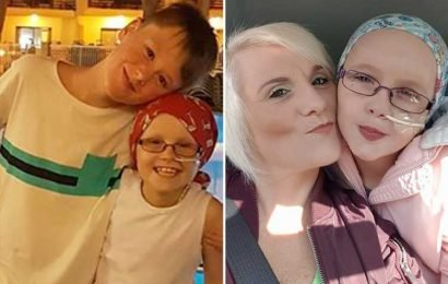 I cleaned and dressed my daughter, eight, after she died at home – then my son, 12, got into bed and cuddled her