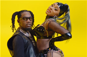 "Offset & Cardi B's ""Clout"" Music Video Has So Much PDA, Because Their Chemistry Is Real"