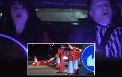 Hollyoaks spoilers: Mercedes and Liam kill a mystery woman in car crash, serial killer Breda strikes again and Mandy finally gives birth in dramatic new trailer
