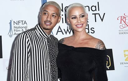 """Who Is Alexander """"AE"""" Edwards? 5 Things On Amber Rose's Boyfriend & Father To Her Second Child"""