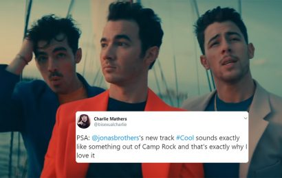 """The Tweets About The Jonas Brothers' """"Cool"""" Are Digging The Song's 'Camp Rock' Vibe"""