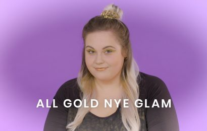 This Easy New Year's Eve Makeup Tutorial Will Have You Ready In 5 Minutes — Seriously