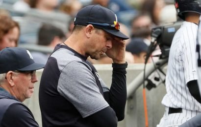 Aaron Boone is ignoring the crisis Yankees are now facing