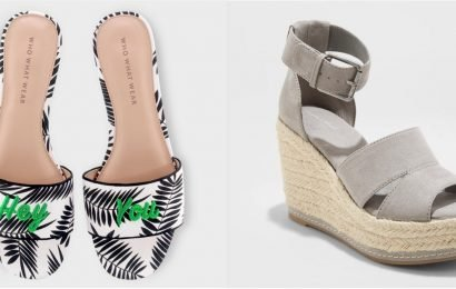 Toes, It's Time to Make Your Summer Debut in These Hot Sandals and Wedges —All From Target!