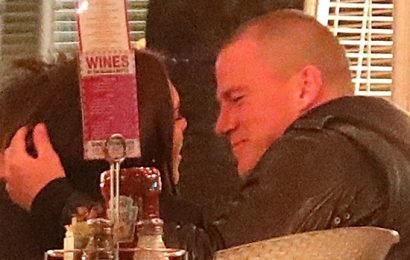 Channing Tatum & Jessie J Cozy Up On A PDA-Filled Dinner Date — See Pics
