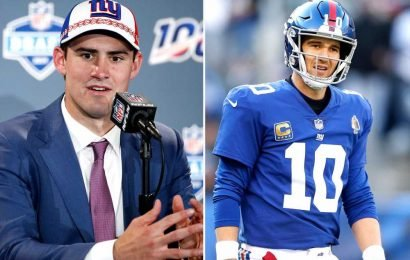 Dave Gettleman floats 'three-year' plan for Daniel Jones and Eli Manning