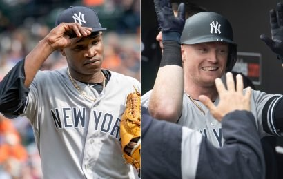 The depth the Yankees have been harping on shows up