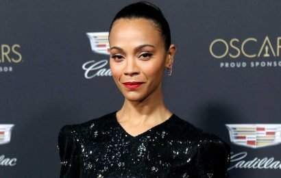 Zoe Saldana Jokes She Is 'Not Thrilled' About About Turning 41: 'My Knees Hurt'