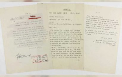 Hitler's 'suicide note' estimated to fetch $80K at auction