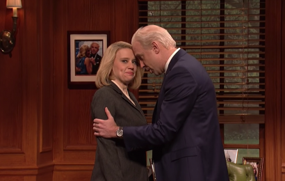 Jason Sudeikis returns to 'SNL' to skewer Joe Biden