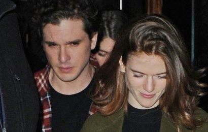 Kit Harington & Rose Leslie Attend 'SNL' After-Party in NYC