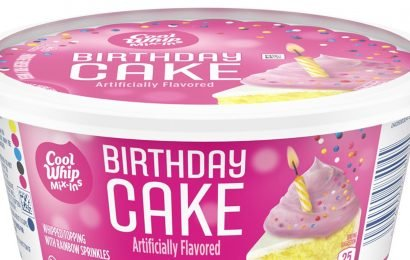 Grab a Spoon! Birthday Cake Cool Whip Exists and Consumers Are Psyched