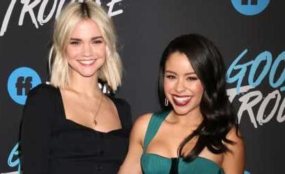 Maia Mitchell & Cierra Ramirez Enjoy Coachella 2019 Together