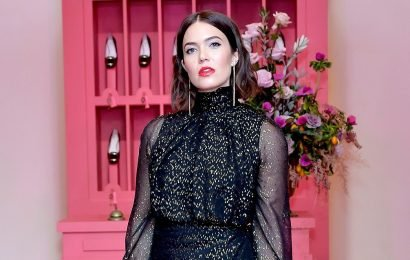 Mandy Moore Stunned at Roger Vivier's Hotel Vivier in L.A