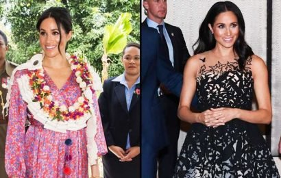 Vote! Which Duchess Meghan Maternity Look Do You Like Best?