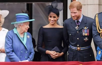 Prince Harry and Meghan Markle Wish Queen Elizabeth the 'Most Wonderful' 93rd Birthday