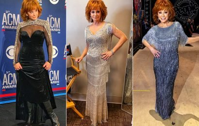Sequins! Finge! Cowboy Boots! All the Details on Reba McEntire's Epic Outfit Changes at the 2019 ACMs