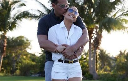 Alex Rodriguez Can't Get Enough of J.Lo Dancing to This Cardi B Remix