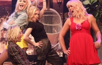 Stop Everything! Watch Busy Philipps & Her White Chicks Co-Stars Recreate Their Famous Dance-Off Scene on Busy Tonight